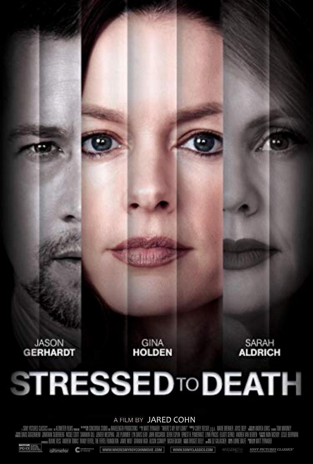 telecharger Stressed To Death 2019 FRENCH WEBRiP XViD-STVFRV zone telechargement