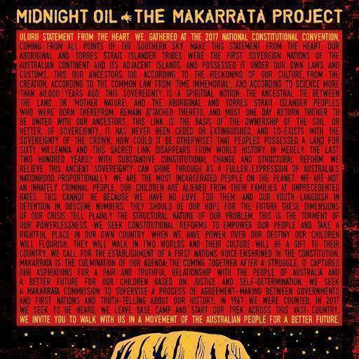 telecharger Midnight Oil • The Makarrata Project 2020